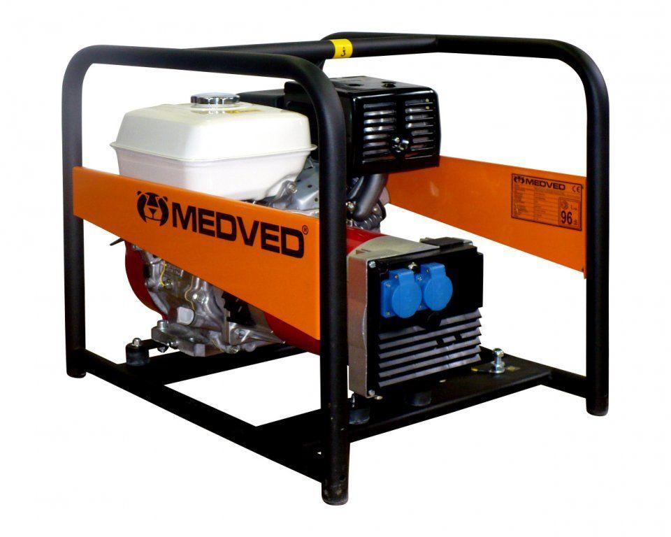 AR-5000 H - Profesionální 1-fázová elektrocentrála 4,2 kVA MEDVĚD