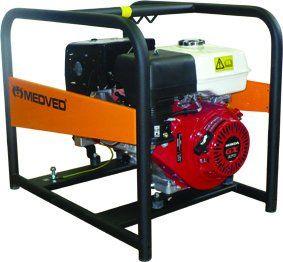 AR-8000 H - Profesionální 1-fázová elektrocentrála 6 kVA - AVR MEDVĚD