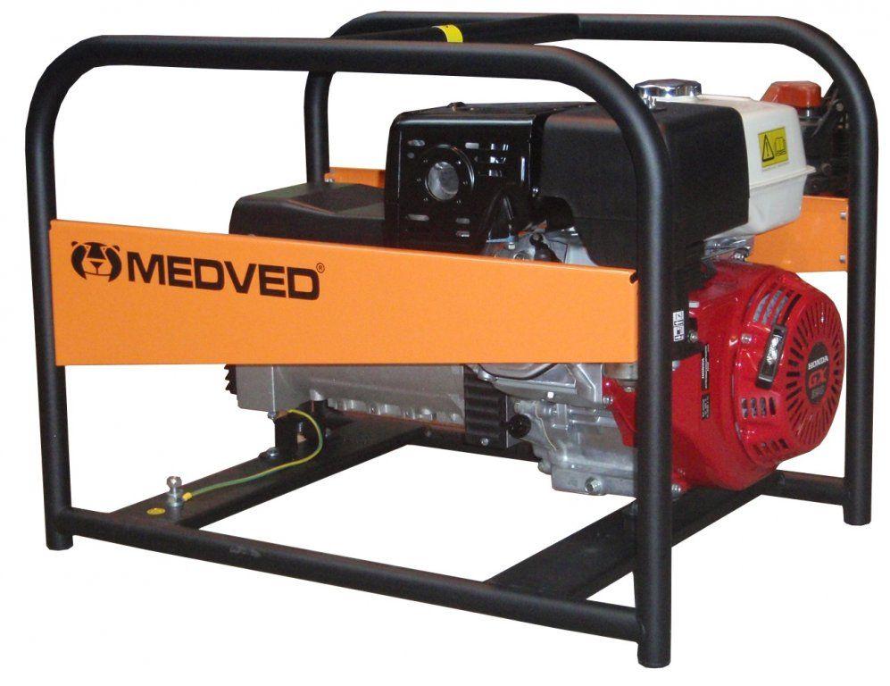 AR-9000 H - Profesionální 1-fázová elektrocentrála 8 kVA - AVR MEDVĚD