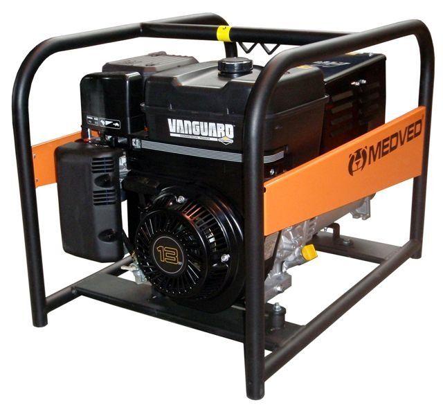 AR-9000 V - Profesionální 1-fázová elektrocentrála 8 kVA - AVR MEDVĚD