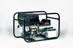 EP4200DE - Profesionální naftová elektrocentrála s výkonem 4,2 kVA, motor Hatz, elektrostart