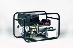 EP6000DE - Profesionální naftová elektrocentrála s výkonem 6 kVA, motor Hatz, elektrostart