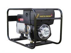 EP7000TD - Profesionální naftová elektrocentrála s výkonem 7 kVA, motor Hatz, ruční start