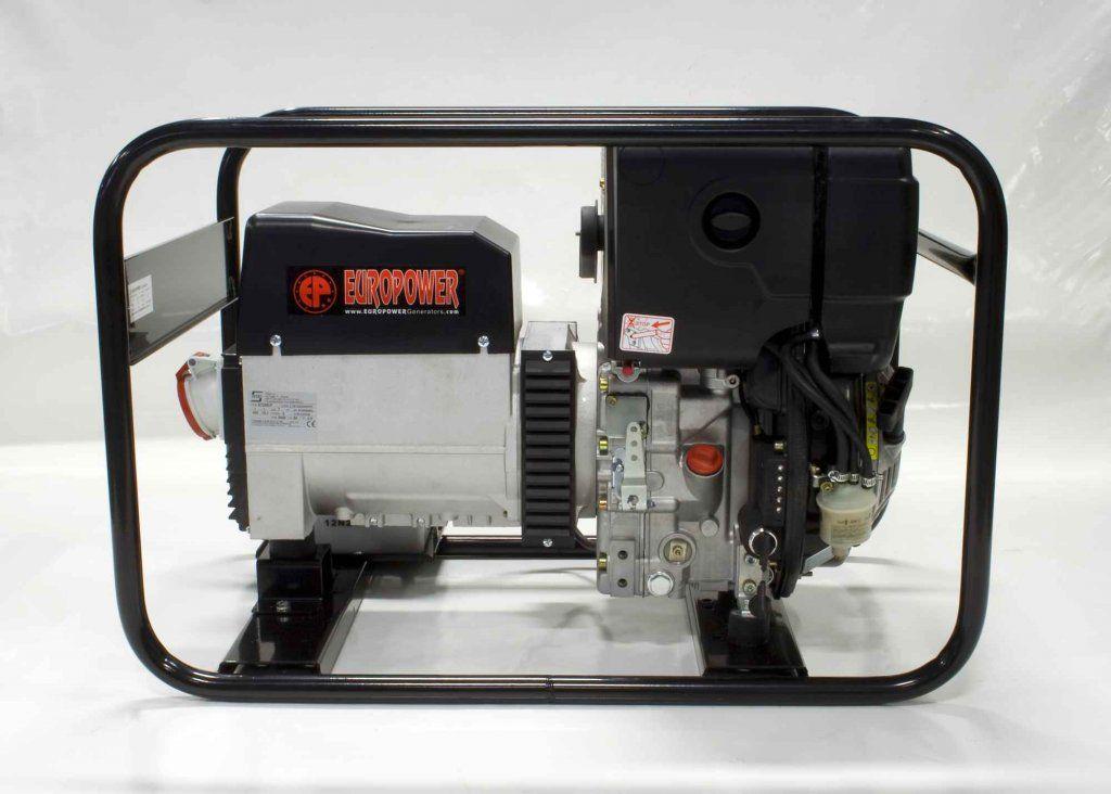 EP7000TDE - Profesionální naftová elektrocentrála s výkonem 7 kVA, motor Hatz, elektrostart EUROPOWER