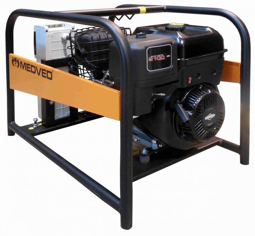 GR-7000 B - Profesionální 3-fázová elektrocentrála 7 kVA/400V MEDVĚD