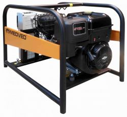 GR-9000 B - Profesionální 3-fázová elektrocentrála 9 kVA/400V MEDVĚD